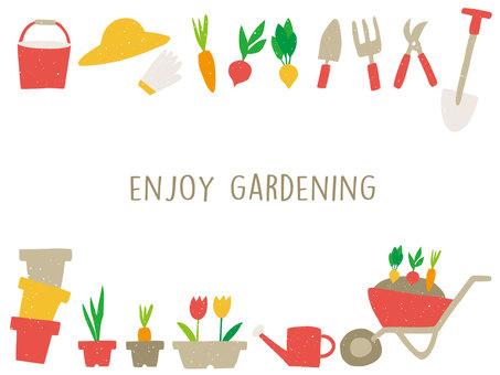 Gardening frame 02
