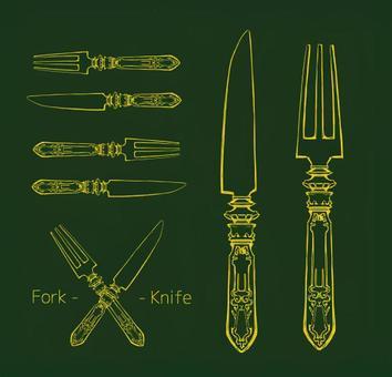 Knife & Fork 04