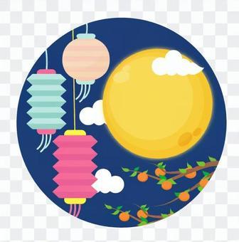 燈籠和滿月
