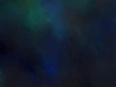 深藍色的夢幻般的水彩紋理背景