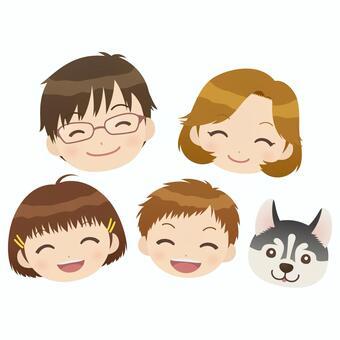 微笑的臉集!