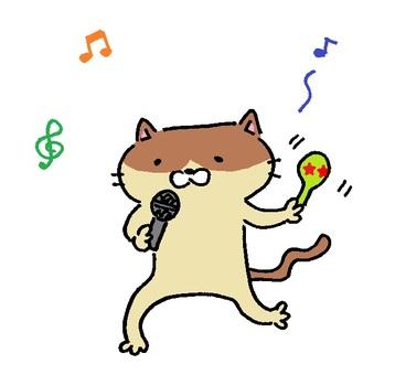 會唱歌的貓