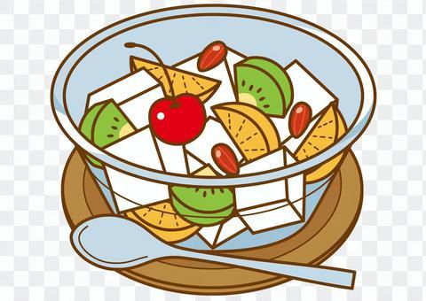 安寧豆腐水果4C