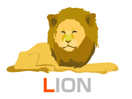 Learning English L LION