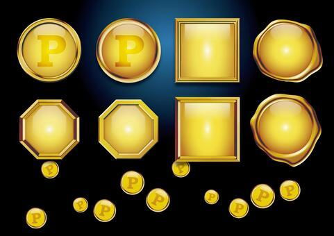 黃金金屬點01