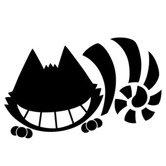 剪影chisha貓