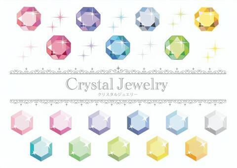 水晶零件材質