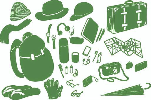 Travel Goods Green