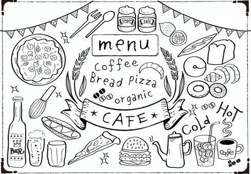 咖啡館手寫設置1