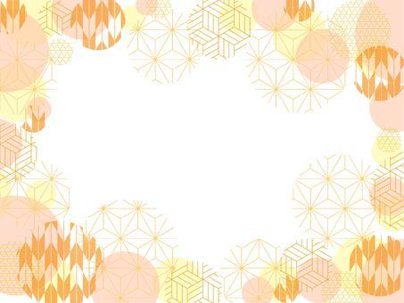 秋背景和柄1