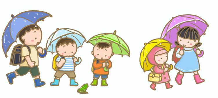在雨天青蛙的青蛙路與Waterdrop