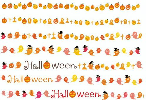 Halloween line summary