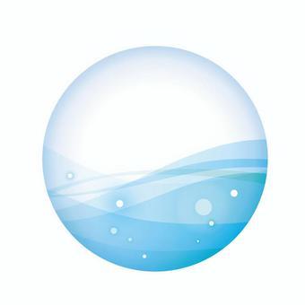 球形水01