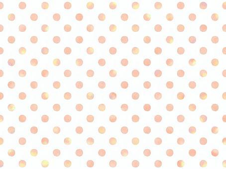 手寫的圓點樣式背景003桔子
