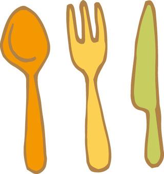 Cutlery set (Honka)