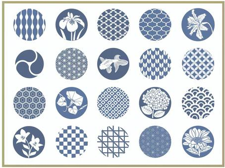 Summer Japanese pattern collection