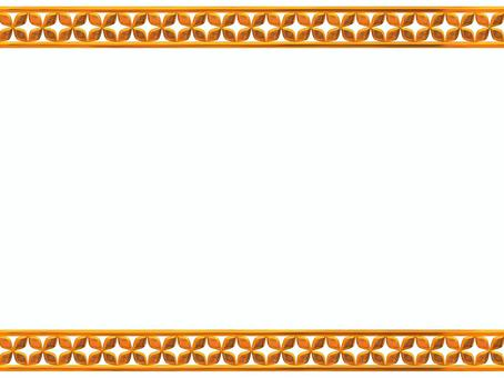 Gold flower line