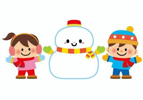 Snowman kids