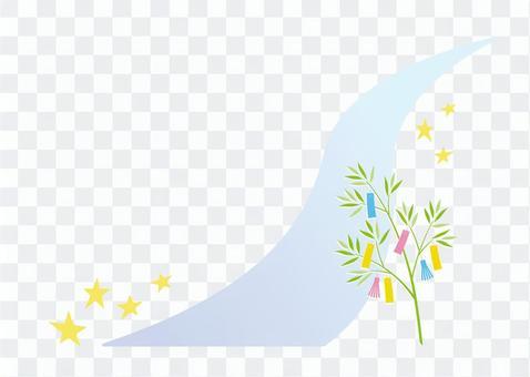 Tanabata Milky Way night sky image
