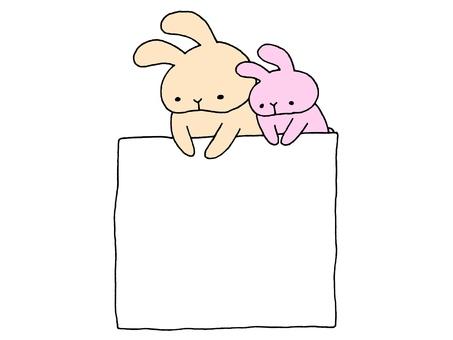 灰塵和兔子和紙1 2