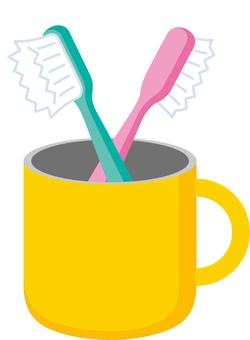一對牙刷夫妻生活形象