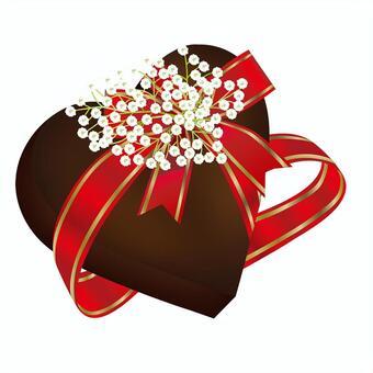 Heart chocolate 10