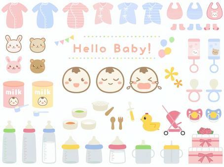 嬰兒用品套裝