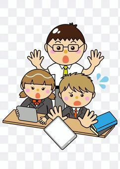 學生12_14(男孩放平板電腦)