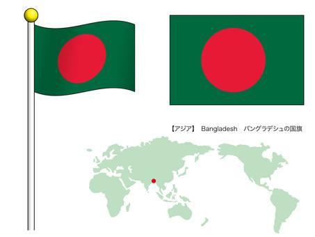 Flag Vector 12_ Bangladesh