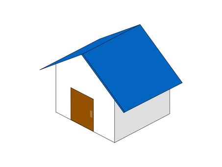 家庭單戶新近使用的窗戶無藍色