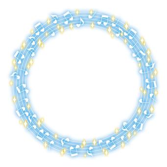 音符框架(藍色)