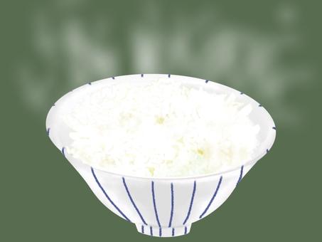 剛煮好的米飯