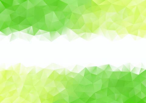 녹색과 연두색의 폴리곤 배경