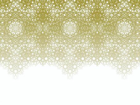 Braiding pattern (gold)