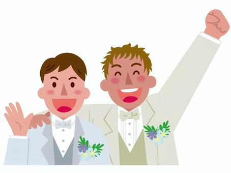 男性同士の結婚-3