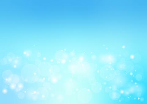 藍色閃光光背景