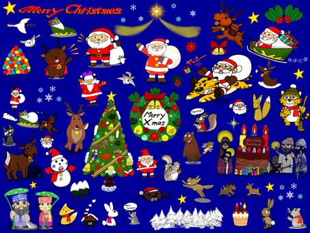 各種聖誕用品套裝