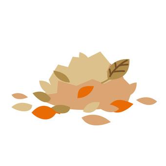 垃圾分離 - 落葉