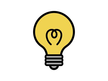 電球 電気 ひらめき
