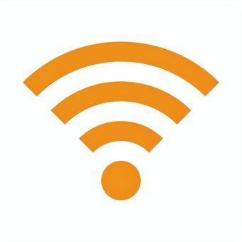 wi-fiマーク(橙)