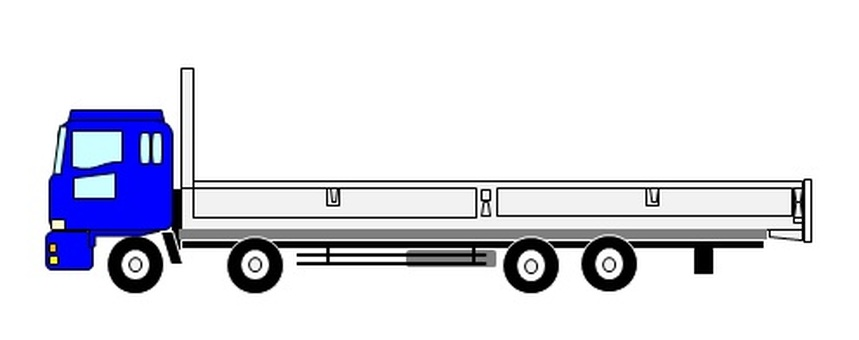 10噸平體車(藍色)