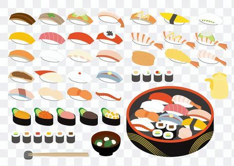 壽司簡易套餐 7