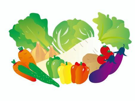 Various vegetables 3