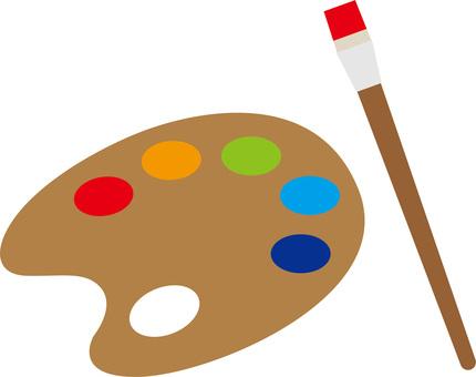 예술 · 미술 · 유화 · 그림 · 표 · 그림 물감