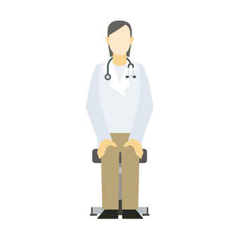 Doctor sitting