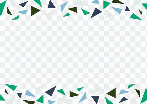 時尚的框架與幾何圖案