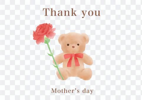 母親節泰迪熊