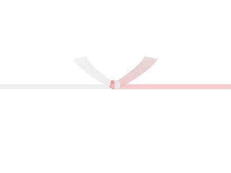 10個紅白結Mizuhiki