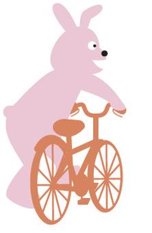 兔子和自行车