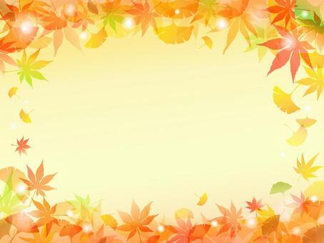 Autumnal Ginkgo Background-5